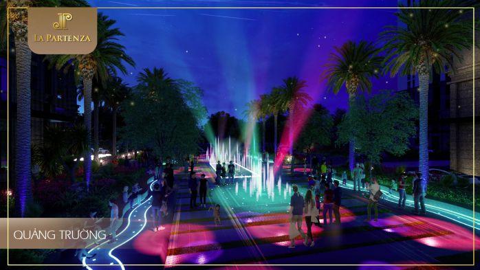 Quảng trường ánh sáng của dự án la partenza