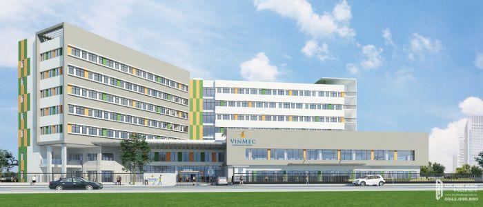 Bệnh viện vinmec gần The 9 Stellars