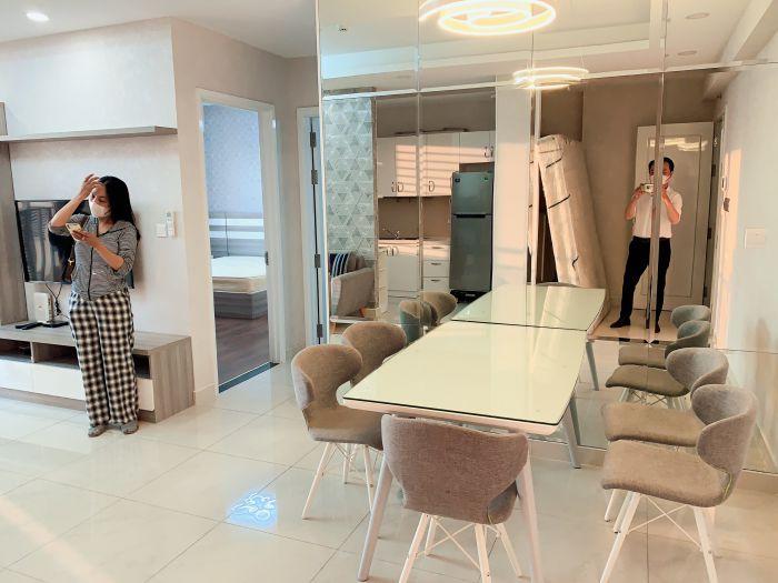 Căn hộ Sài Gòn Mia cho thuê 2pn full nội thất