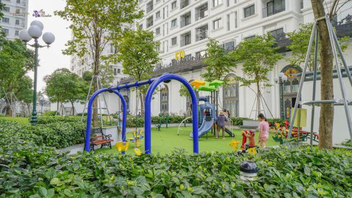 Khu vui chơi cho trẻ em tại chung cư Iris Garden