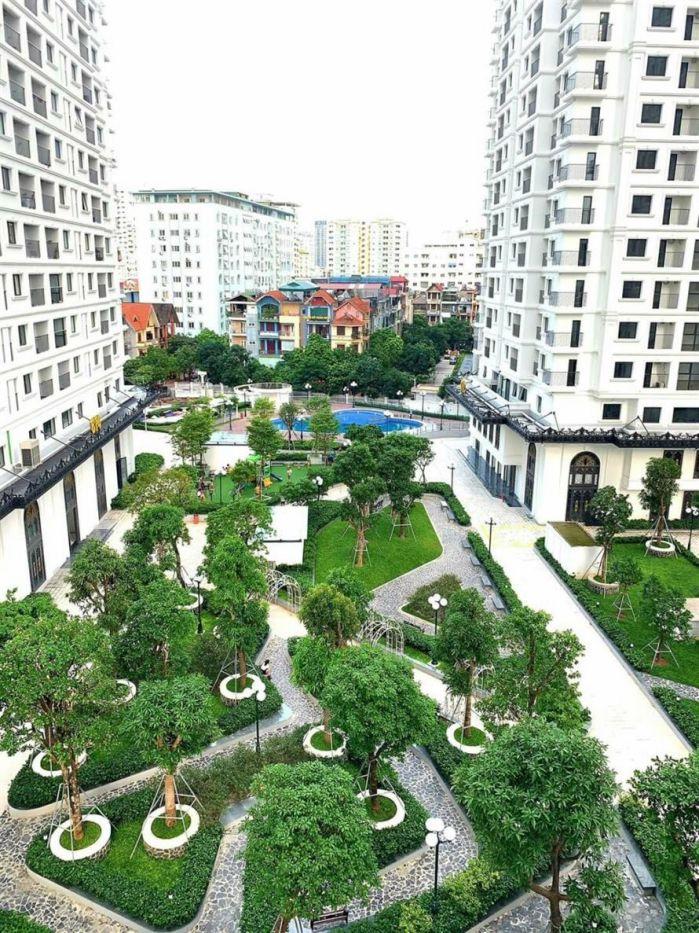 cảnh quan nội khu chung cư Iris Garden