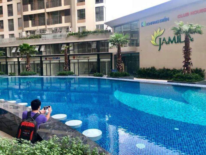 Hồ bơi căn hộ Jamila Khang Điền Quận 9