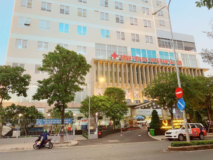 Bệnh viện Đa khoa Nam Sài Gòn có vị trí phía trước của Sài Gòn Mia