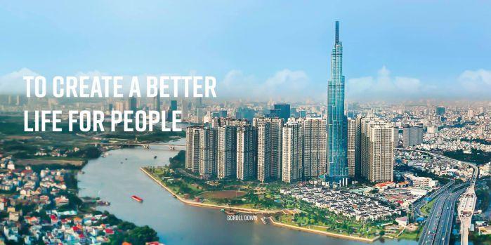Landmark 81 tòa nhà cao nhất Việt Nam