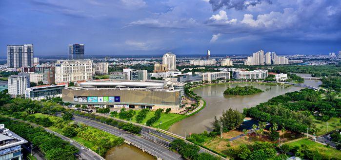 Trung tâm thương mại Crescent Mall Phú Mỹ Hưng