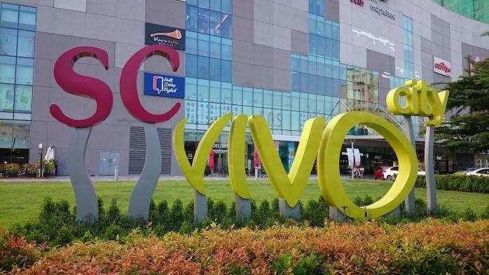 trung tâm thương mại Vivo City Phú Mỹ Hưng