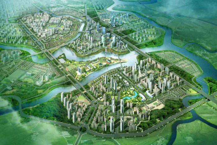 Vị trí Dự án GS Metrocity Nhà Bè mặt tiền đường Nguyễn Hữu Thọ