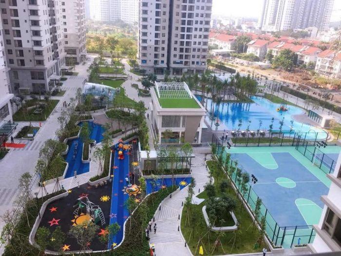 Tổ hợp tiện ích của chung cư Sài Gòn South residences