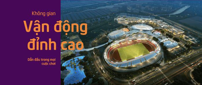Thiết kế dự án Saigon Sports City theo phong cách thể thao