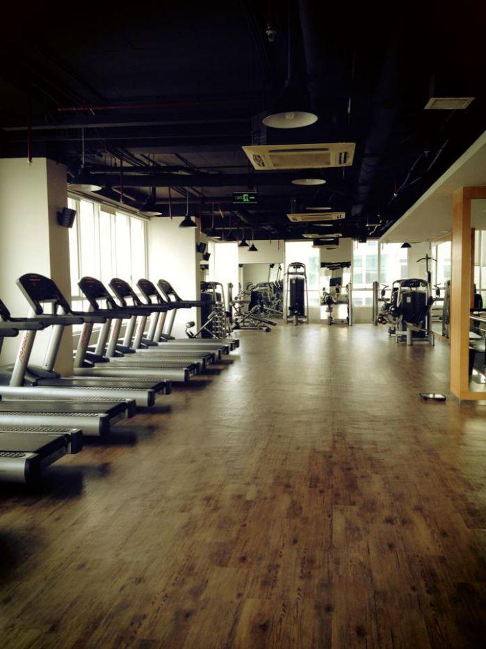 phòng tập Gym nhằm chăm sóc sức khỏe cho cư dân