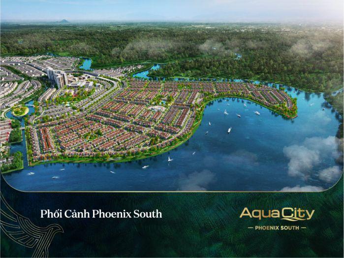 phối cảnh phoenix south aqua city