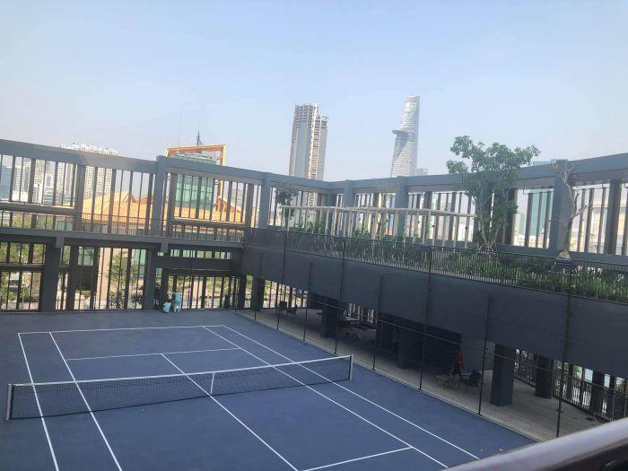 Empire city sân tennis