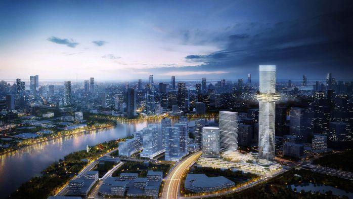 Căn hộ Empire City Là dự án khu phức hợp có quy mô lên tới 14.6 ha