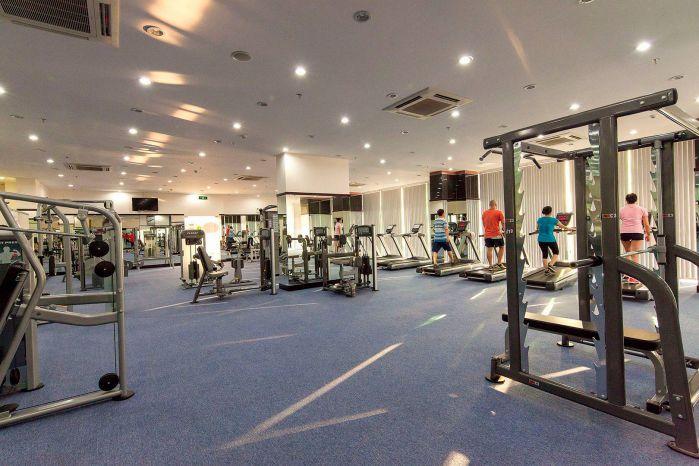 Phong tập Gym Him Lam Quận 7