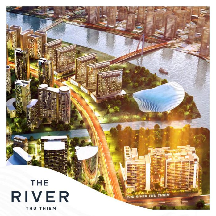 không gian sống đẳng cấp bên sông sài gòn