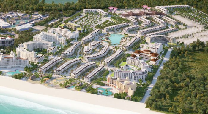 Ảnh tổng quan dự án Grand world Phú Quốc